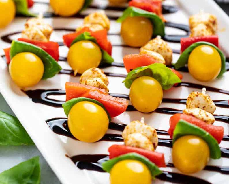 Photo of Southwestern Caprese Bites